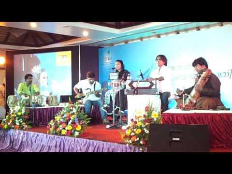Ghazal singer Sithara and Sarangi player Ustad Dilshad Khan- Tribute to Mehdi Hasan at Mascot Hotel