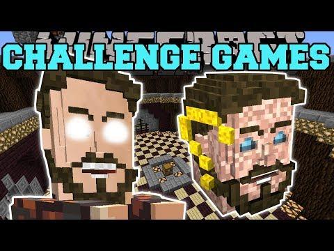 Minecraft: PEWDIEPIE CHALLENGE GAMES - Lucky Block Mod - Modded Mini-Game