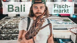 Frischer Hummer auf Bali - Jimbaran Fischmarkt l Bali Geheimtipps