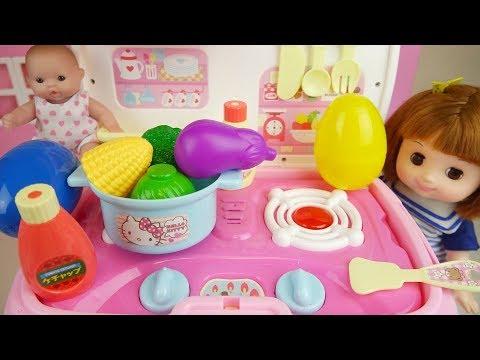Ba doll and kitchen car toys ba Doli play