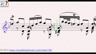 Video Johann Sebastian Bach's Adagio from Sonata No. 1 for Solo Violin, sheet music - Video Score download MP3, 3GP, MP4, WEBM, AVI, FLV Januari 2018