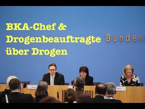 Naive Fragen an BKA-Chef & Drogenbeauftragte zu Drogen