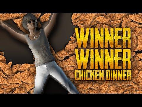 Tobias Unknown Battleground - Winner Winner Chicken Dinner