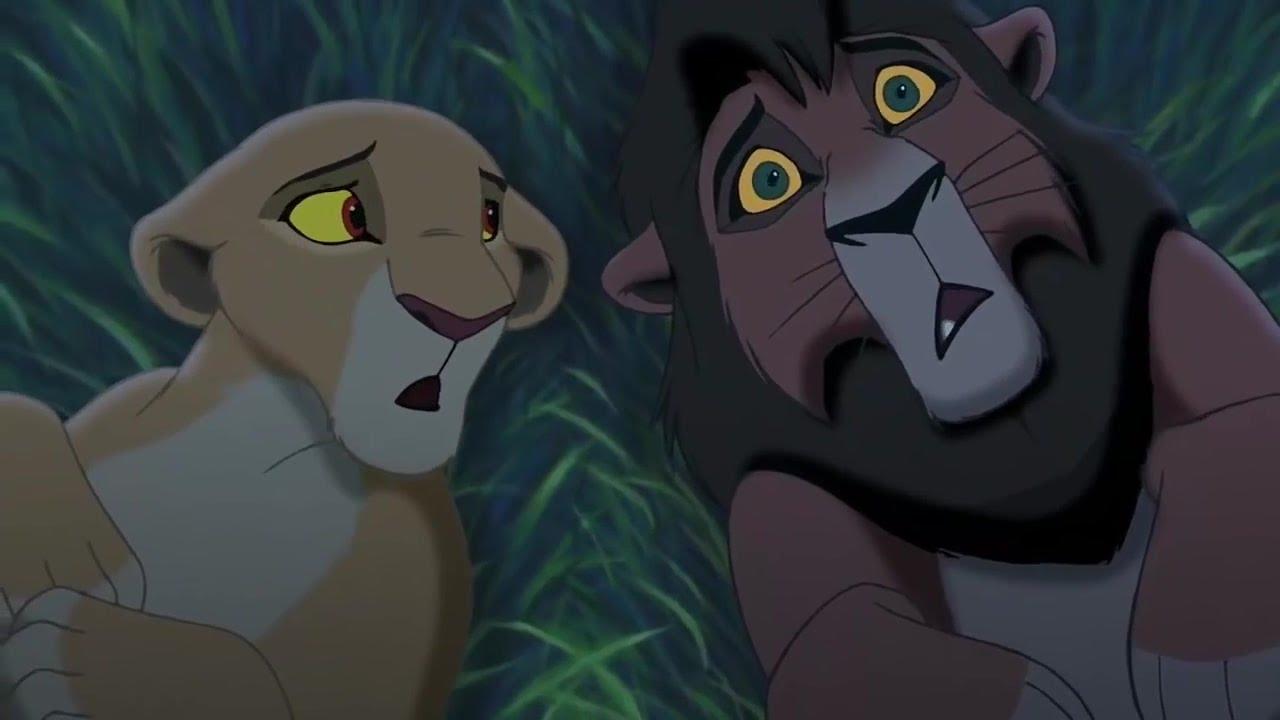 The Lion King 2 Simba S Pride Kovu And Kiara Under The Stars Hd Cartoon For Kids Youtube