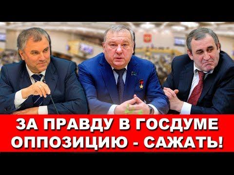 Единая Россия отмазывает губернатора - критика режима в Госдуме недопустима | Pravda GlazaRezhet