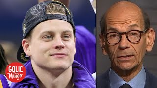 Paul Finebaum breaks down the Heisman Trophy finalists and why Joe Burrow will win | Golic and Wingo