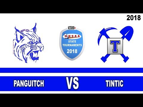 1A Boys Basketball: Panguitch vs Tintic High School UHSAA 2018 State Tournament Quarterfinals