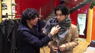 メンズノンノモデル成田凌が、ポール・スミス金沢店の取材のために初の...