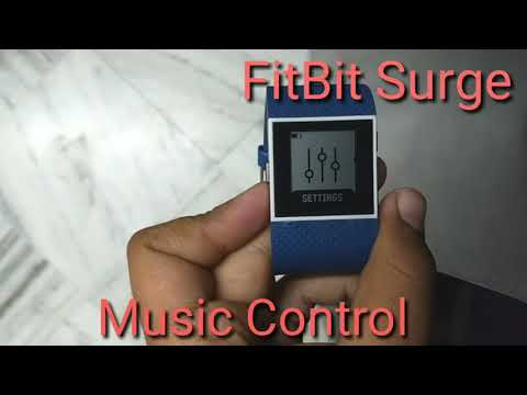 How to Control Music In Fitbit Surge Easy Way !!