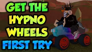 NEW! Get The Hypno Wheels FIRST TRY! [Only Spend 10000] (Roblox Jailbreak)