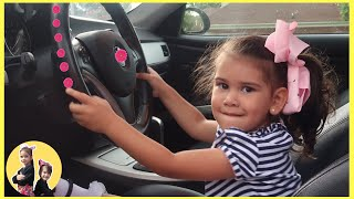 We are in the Car | Wheels On The Bus Song Nursery Rhymes & Kids Songs by  Sam and Abby