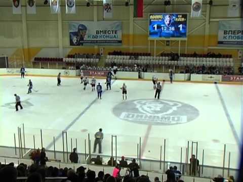 Неман - Динамо-Молодечно 6:0 (1:0, 3:0, 2:0) (драки и болельщики)