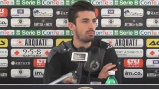 Spezia calcio, Sciaudone dopo Spal-Spezia 13-12-2016