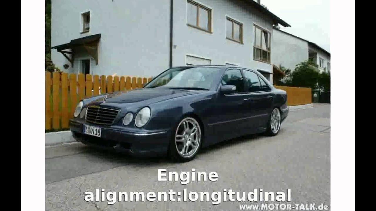 2002 Mercedes Benz E 500 W 211 Specs Walkaround Shaeuanca
