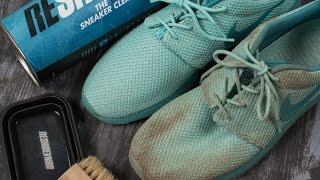 How to deep clean your Nike Roshe Run's with Reshoevn8r