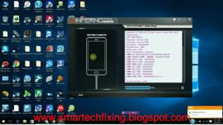 how to flash Qmobile A120 v2 bin file with inferno tool