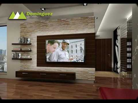 muebles para tv por dominguez american design youtube On ver muebles para television