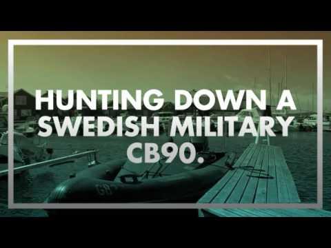 Hunting down a Swedish military CB90  (Stridsbåt 90)