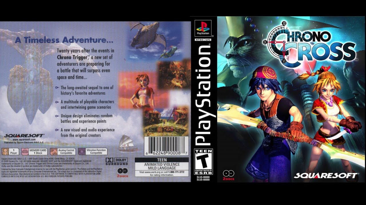 Chrono cross rus скачать