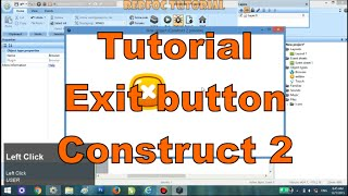 Tutorial Exit Button - Construct 2