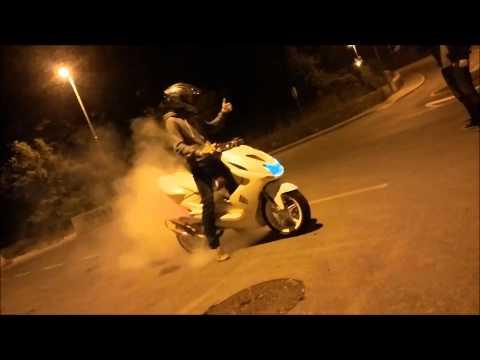 Yamaha Aerox High End Short Burnout
