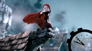 The First Five Fairytale Minutes Of Woolfe: The Red Hood Diaries