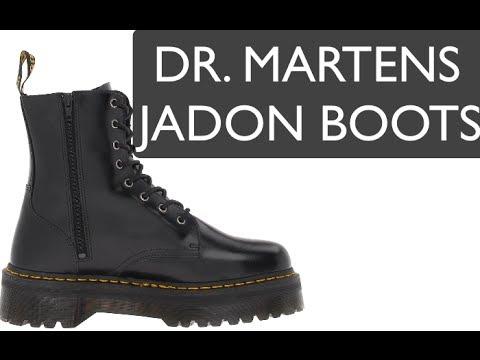 d313181771d JADON Dr. Martens - 8 Eye Boot - YouTube