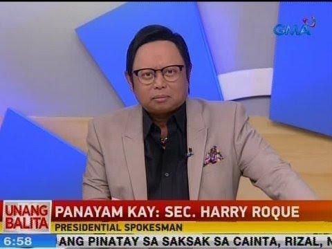 UB: Panayam kay Presidential Spokesman Sec. Harry Roque