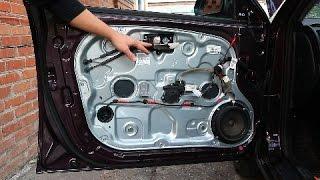 Hyundai Elantra J4 HD . Замена внутренней ручки двери