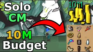 OSRS Solo Challenge Mode in less than 10M Budget from Stream