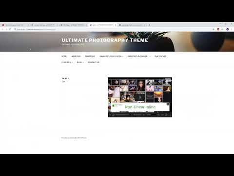 Easy Video Player Wordpress Plugin DFP / IMA (Interactive Media Ads) Video Tutorial
