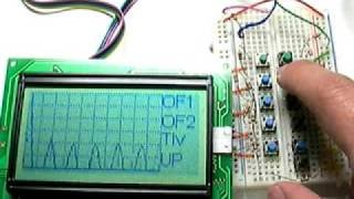 A simple Arduino Oscilloscope with Graphic LCD
