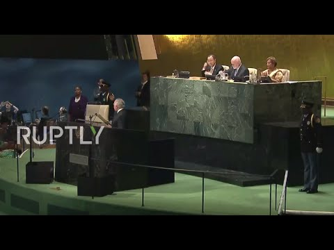 LIVE: Leaders participate in summit on refugee crisis on margins of UNGA