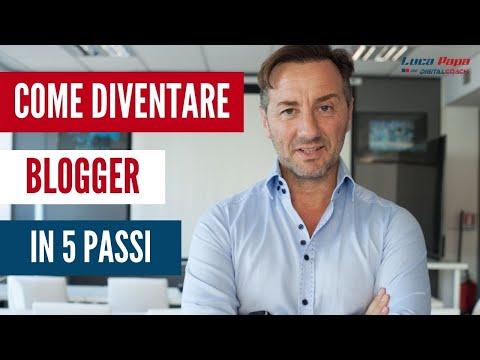 Come DIVENTARE BLOGGER in 5 passi