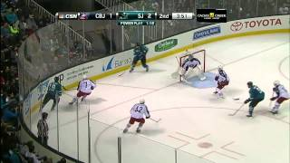 Columbus Blue Jackets vs  San Jose Sharks 07.02.2014
