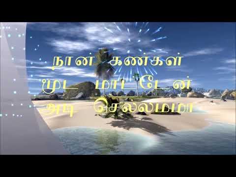 Kannukkulle Unnai Vaithen Song With Lyrics - Pennin Manathai Thottu
