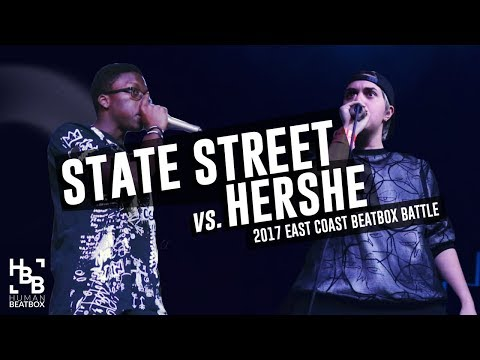 State Street vs Hershe   Top 16   East Coast Beatbox Battle 2017