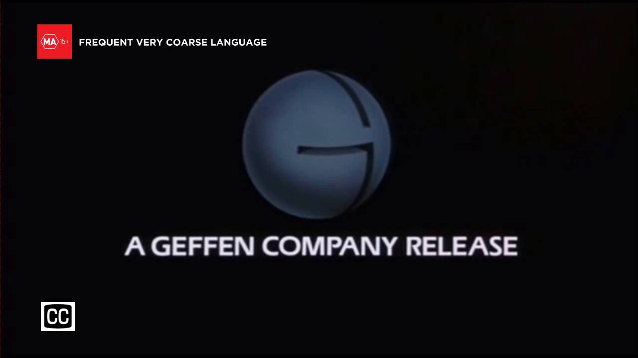 Channel 7 - 'MA' Classification Warning (on-air prototyped) and Geffen  Pictures (1985) logo