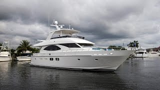 2015 Hargrave 76' Wide Body Motor Yacht
