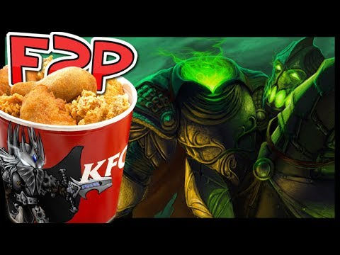 KFC F2P #19: Spoopy Man on a Horse
