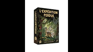 L'expedition perdue VF  -  Regle du jeu VF  - Nuts publishing #224