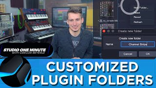 Organize your Plugins in Folders! #StudioOneMinute