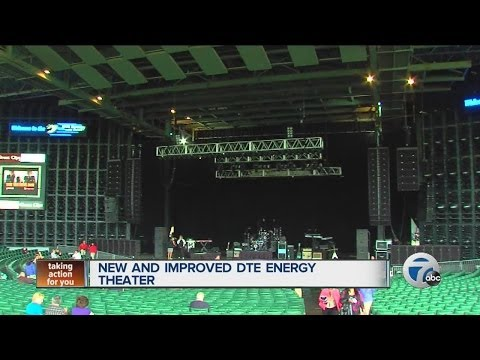 New and improved DTE Energy Theater