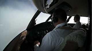 Pilot Kabininden Uçuş Görüntüleri