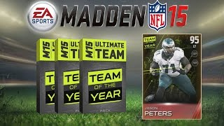 Madden 15 Ultimate Team - TOTY Pack Opening! Team Of The Year Bundle Crashes MUT 15 Market!