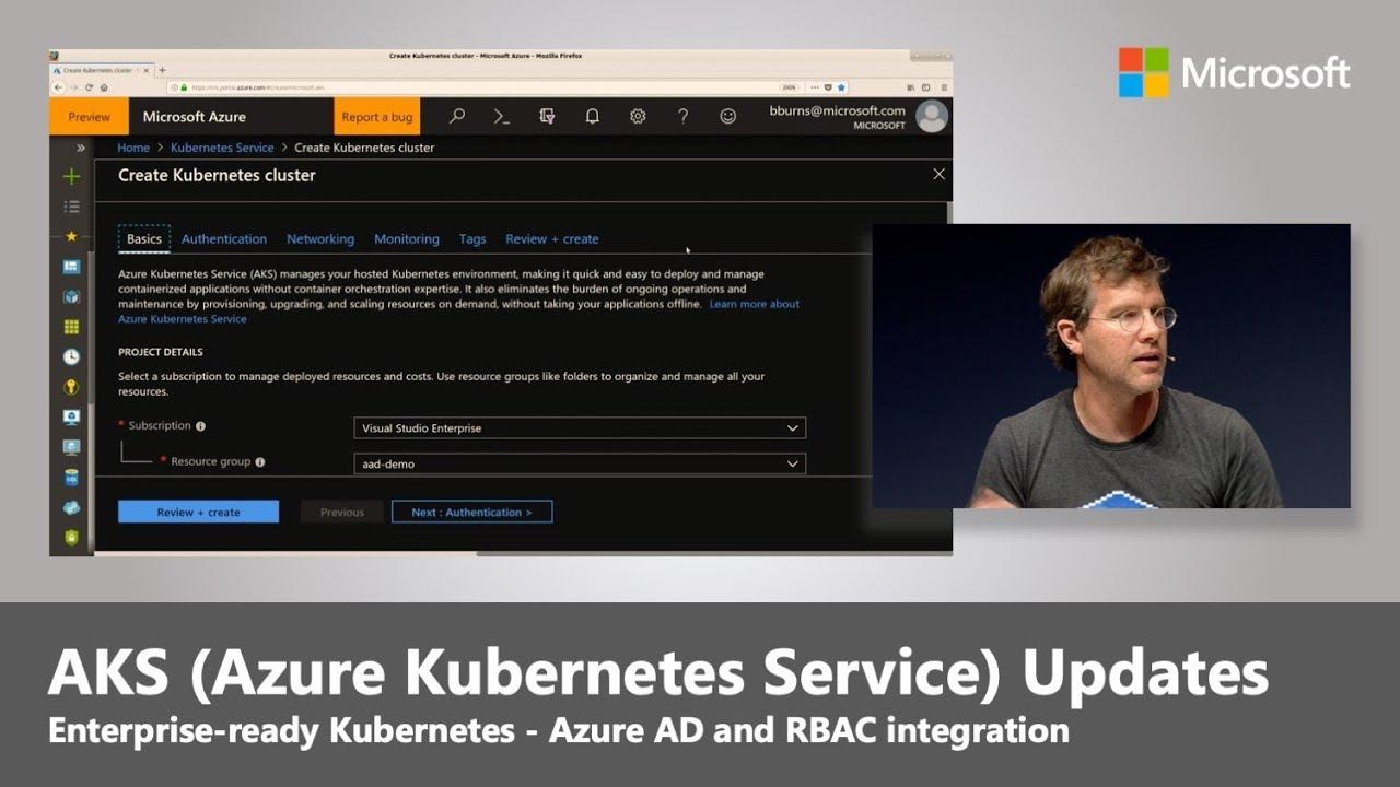 AKS (Azure Kubernetes Service) Security & Identity updates   Ignite 18