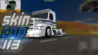 Skin Top [Scania 113] Grand Truck Simulator