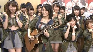 クマムシ AKB48 山本彩 生歌ギターで「あったかいんだから」 NMB48 SKE48 HKT48 乃木坂46