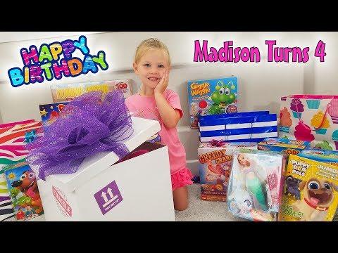 Happy Birthday Madison!!! Turning 4 at Disneyland!