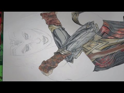 Speed Drawing - Wonder Woman | Gal Gadot | Justice League
